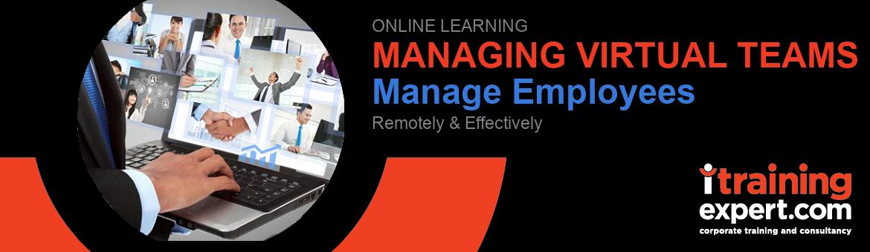 Webinar - Managing Virtual Teams (1 day)
