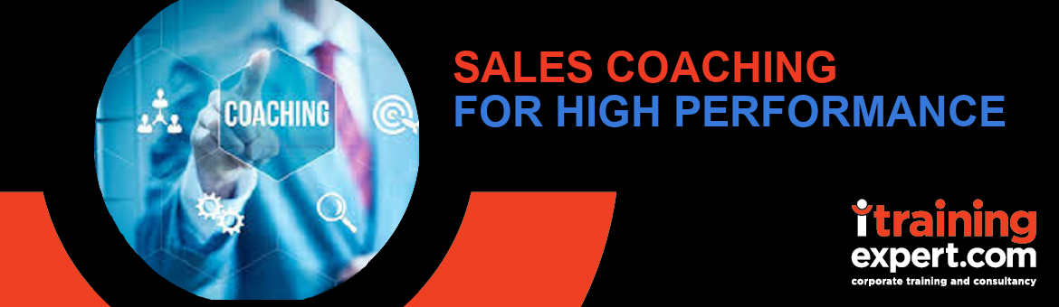 Sales Coaching for High Performance (2 days)