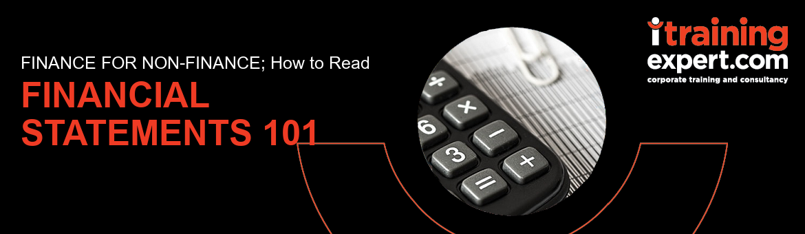 Webinar - How to Read Financial Statements (Finance for Non Finance)