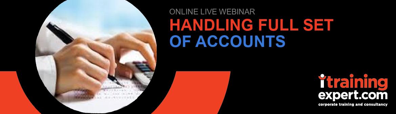 Handling Full Set of Accounts (7 hours)