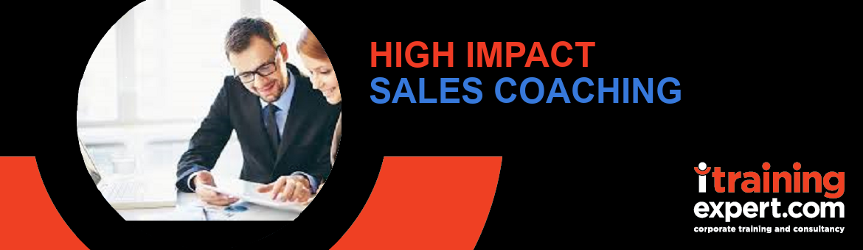 High Impact Sales Coaching (1 day)