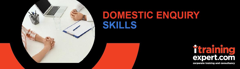 Domestic Enquiry Skills