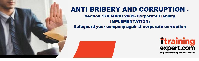 Corporate Liability Provision: Anti Bribery & Corruption